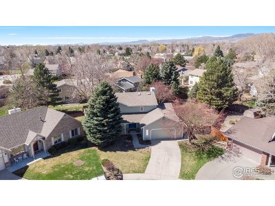 Fort Collins CO Single Family Home For Sale: $597,000