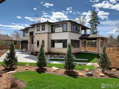 Boulder Single Family Home For Sale: 5430 Baseline Rd