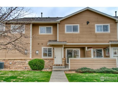 Longmont Condo/Townhouse For Sale: 1601 Great Western Dr #2