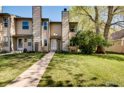 Fort Collins Condo/Townhouse For Sale: 328 Butch Cassidy Dr