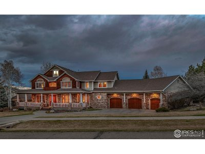 Niwot Single Family Home For Sale: 7204 Spring Creek Cir