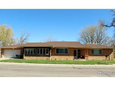 Brush Single Family Home For Sale: 400 Custer St