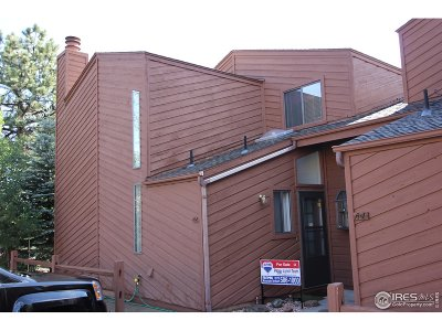 Estes Park Condo/Townhouse For Sale: 1050 S Saint Vrain Ave