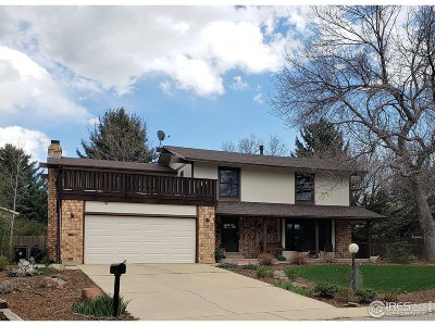 Longmont Single Family Home For Sale: 7384 Glacier View Rd