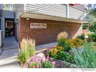 Boulder Condo/Townhouse For Sale: 1111 Maxwell Ave #226