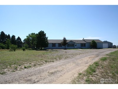 Keenesburg Single Family Home For Sale: 1160 County Road 61