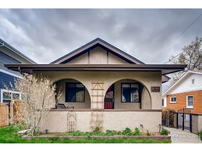 Denver Single Family Home For Sale: 2624 Irving St