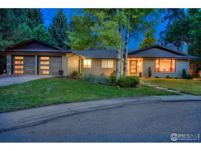 Fort Collins Single Family Home For Sale: 1301 Rollingwood Ln