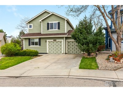 Longmont Single Family Home For Sale: 3413 Larkspur Dr