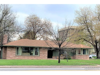 Fort Collins Single Family Home For Sale: 640 S Shields St