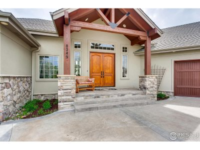 Fort Collins Single Family Home For Sale: 8349 Golden Eagle Rd
