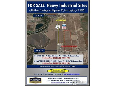 Fort Lupton Residential Lots & Land For Sale: 7090 Us Highway 85