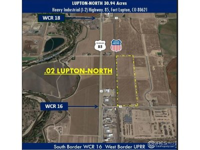Fort Lupton Residential Lots & Land For Sale: 13015 County Rd 16
