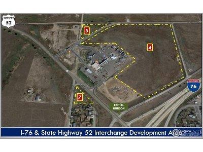 Hudson Residential Lots & Land For Sale: I-76 & Sh 52