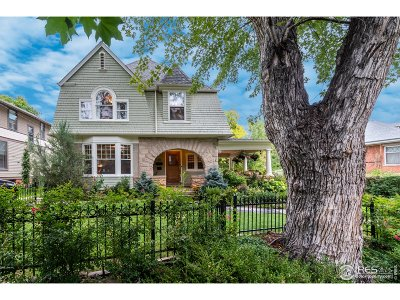 Boulder CO Single Family Home For Sale: $3,250,000