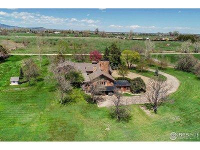 Longmont Single Family Home For Sale: 8195 N 81st St