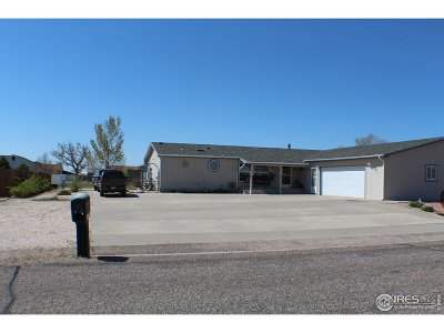 Sterling CO Single Family Home For Sale: $269,000