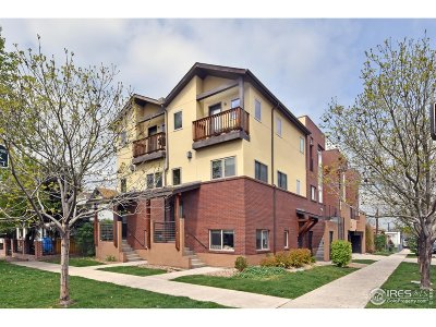 Denver Condo/Townhouse For Sale: 500 30th St #2