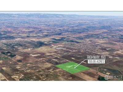 Fort Lupton Residential Lots & Land For Sale: Weld County Road 12 1/2 (Hwy52