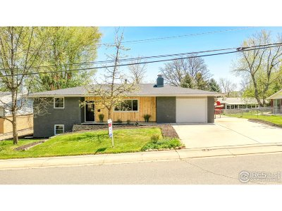 Longmont Single Family Home For Sale: 1020 Spencer St