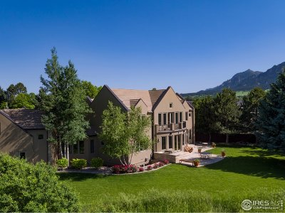 Boulder CO Single Family Home For Sale: $7,500,000