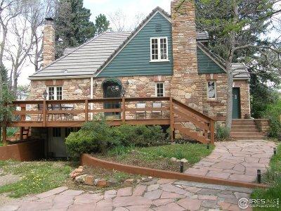 Boulder Single Family Home For Sale: 1180 Linden Ave