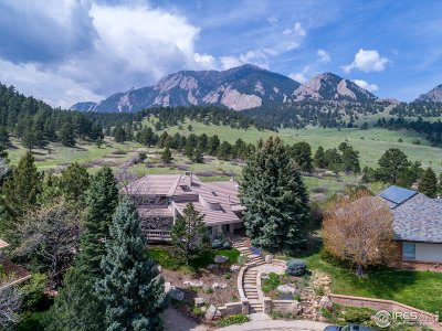 Boulder Single Family Home For Sale: 1600 Blue Sage Ct