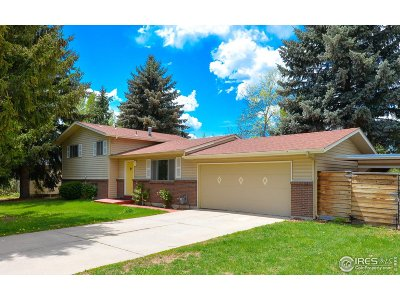 Fort Collins Single Family Home For Sale: 2601 Brookwood Dr
