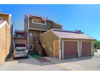 Boulder Condo/Townhouse For Sale: 2877 Springdale Ln
