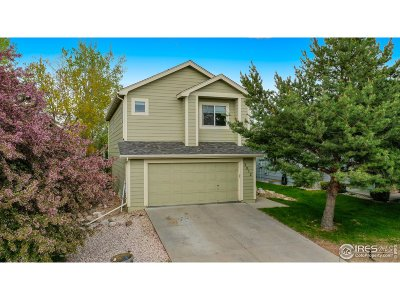 Fort Collins Single Family Home Active-Backup: 2012 Skye Ct