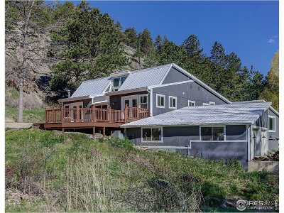 Boulder Single Family Home For Sale: 626 Valley Ln