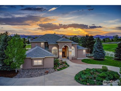 Berthoud Single Family Home For Sale: 310 Goose Hollow Rd
