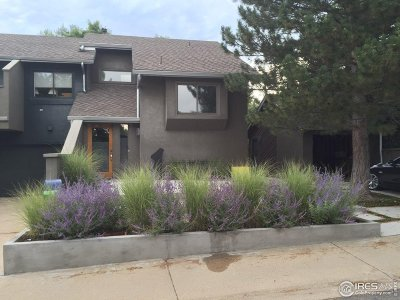 Boulder Condo/Townhouse For Sale: 3611 Hazelwood Ct