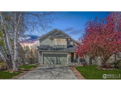 Longmont Single Family Home For Sale: 1117 Alder Way