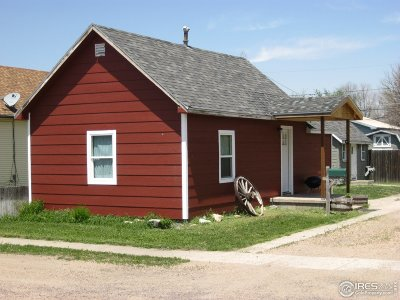 Sterling CO Single Family Home For Sale: $90,000