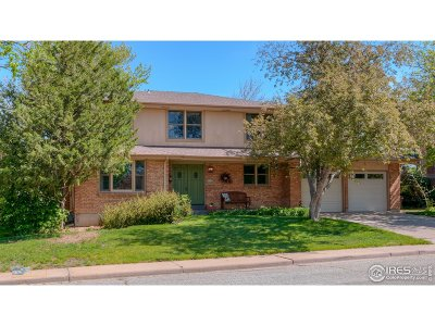 Boulder Single Family Home For Sale: 8005 Grasmere Dr