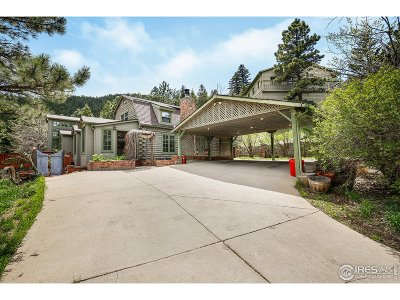 Boulder Single Family Home For Sale: 1635 Sugarloaf Rd