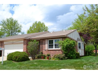 Longmont Single Family Home For Sale: 2639 Elmhurst Cir
