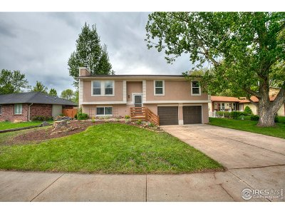 Fort Collins Single Family Home For Sale: 1425 Fleetwood Ct