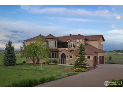 Berthoud Single Family Home For Sale: 2830 Center Ridge Dr