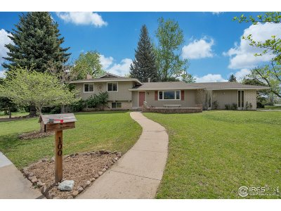 Boulder Single Family Home For Sale: 100 Inca Pkwy