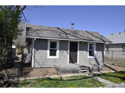 Weld County Single Family Home For Sale: 31179 4th St