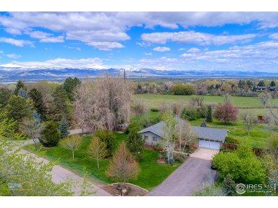 Boulder Single Family Home For Sale: 7849 Brockway Dr