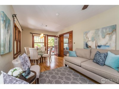 Boulder Single Family Home For Sale: 2455 6th St