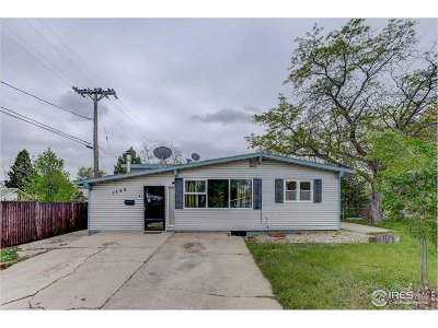 Loveland Single Family Home For Sale: 1530 W 16th St