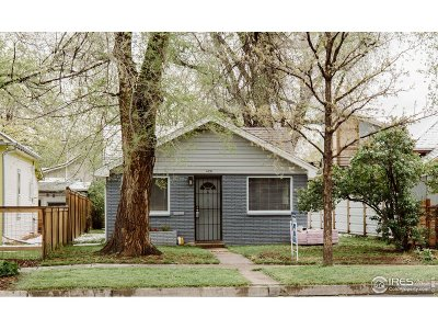 Fort Collins Single Family Home For Sale: 428 N Loomis Ave