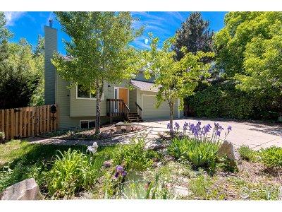 Boulder Single Family Home For Sale: 582 Locust Pl