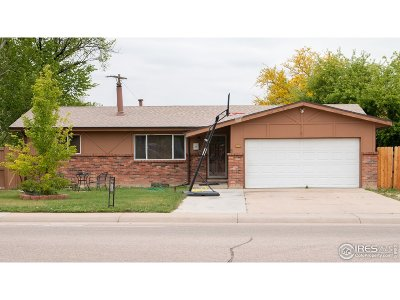 Greeley Single Family Home For Sale: 3105 W 13th St