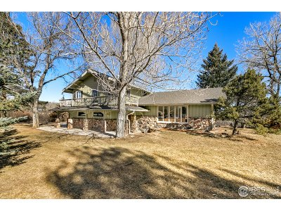 Fort Collins CO Single Family Home For Sale: $850,000