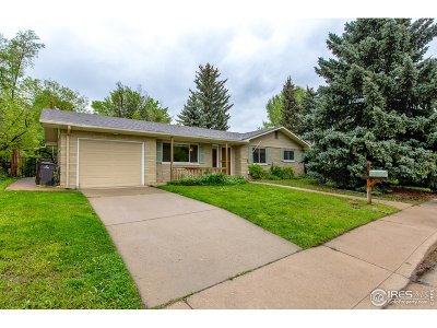 Boulder Single Family Home For Sale: 3455 17th St
